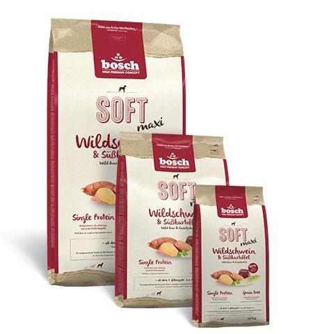 bosch soft maxi wildschwein s kartoffel futterwolke. Black Bedroom Furniture Sets. Home Design Ideas